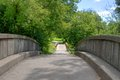 Bridge in Sunny Brook Park Royalty Free Stock Photo