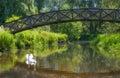 Bridge Of Swans Royalty Free Stock Photo
