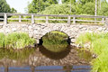 Bridge in sweden stone southern Royalty Free Stock Image