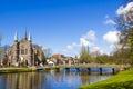 Bridge To Church, Alkmaar Town...