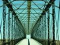 Bridge to nowhere Royalty Free Stock Photography
