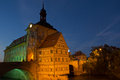 Bridge town hall in Bamberg, Bavaria Royalty Free Stock Photography
