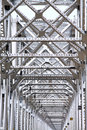 Bridge of Train track Royalty Free Stock Photography