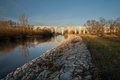 Bridge and viaduct from in boleslawiec poland Stock Photos
