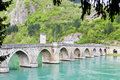 Bridge, Visegrad Stock Photography