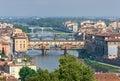 Bridges in Florence, Italy Stock Photos