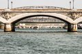 Bridges of Paris, view from the Seine Royalty Free Stock Photo
