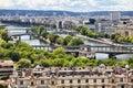 Bridges of the Seine Royalty Free Stock Photo