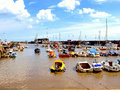 Bridlington harbour, Yorkshire Stock Photos