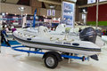 Brig zodiak boat cnr international eurasia boat show february istanbul turkey Stock Photography