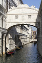 Brigde of Sighs, Venice. Royalty Free Stock Photo