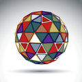Bright Abstract Spherical Obje...