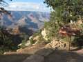 Bright angel hiking trail scenic view of in grand canyon national park arizona u s a Royalty Free Stock Image