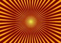 Bright background.Red background with Golden divergent rays
