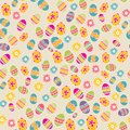 Bright background with easter egg colorful eggs Stock Photography