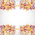 Bright background space banner fantasy Royalty Free Stock Photography
