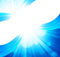 Bright blue background Royalty Free Stock Photo