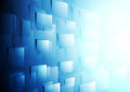 Bright blue hi-tech vector motion background Royalty Free Stock Photo
