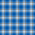 Bright blue plaid Royalty Free Stock Photos