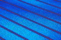 Bright blue texture of the concrete surface with stripes Royalty Free Stock Photo