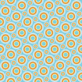 Bright circles Stock Images