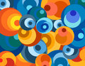 Bright circles  wallpaper Stock Photo