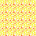 Bright citrus tropical delicious sweet cute lovely tasty yummy summer lemons, oranges, grapefruits pattern watercolor