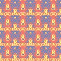 Bright colored seamless background. Red yellow and blue background