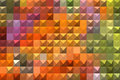 Bright colorful abstract mosaic background
