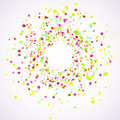 Bright colorful holi paint splatter layout Royalty Free Stock Photo
