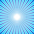 Bright colorful radial, radiating lines. Starburst / sunburst ba Royalty Free Stock Photo