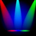 Bright colorful rays Royalty Free Stock Image