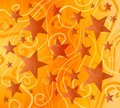 Bright Colorful Stars Pattern Royalty Free Stock Photos