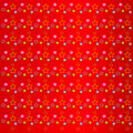 Bright colorful stars on a red background Royalty Free Stock Photos