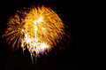 bright colors fireworks -  beautiful colorful firework isolated Royalty Free Stock Photo