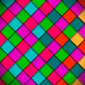 Bright colors mosaic pattern vector eps illustration Royalty Free Stock Photo