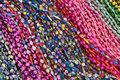Bright colourful beads Stock Photography