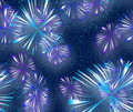 Bright colourful Fireworks Royalty Free Stock Photo