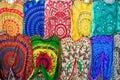 Colourful multicolored Arabian, Turkish, oriental traditional ba Royalty Free Stock Photo