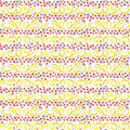 Bright delicious sweet cute lovely tasty yummy summer strawberries and banana pattern watercolor