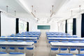 Bright empty classroom Stock Photography