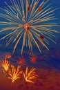 Bright firework Stock Photo