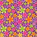 Bright floral seamless pattern.
