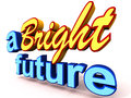 A bright future Stock Images