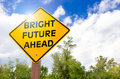 Bright Future Ahead Royalty Free Stock Photo