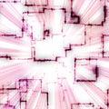 Bright Geometric Pattern Royalty Free Stock Photos