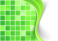 Bright green tile background template Royalty Free Stock Photo