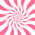 Bright Hot Pink Ribbon Twirls Royalty Free Stock Image