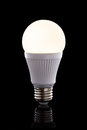 Bright led light bulb Royalty Free Stock Photo