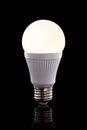 Bright led light bulb Royalty Free Stock Photo